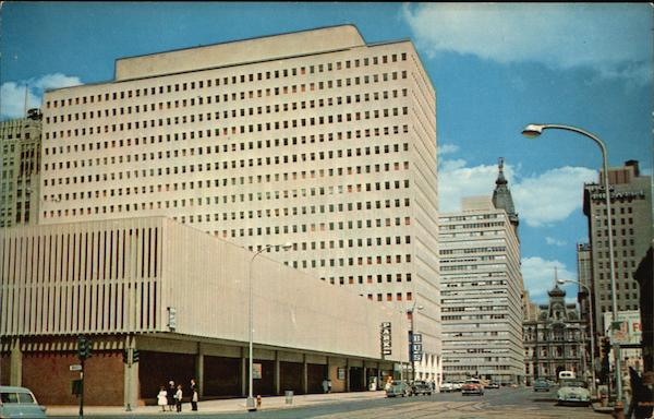 Greyhound Bus Terminal and Transportation Building Philadelphia Pennsylvania