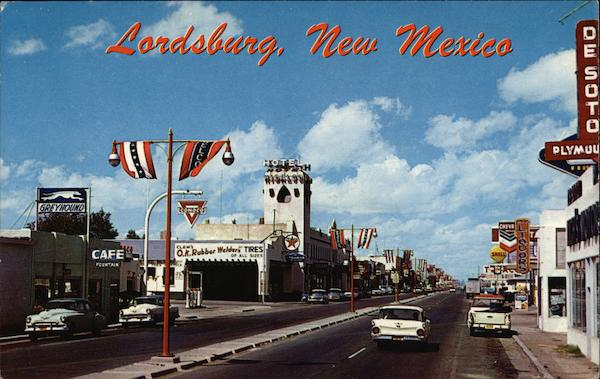 Railroad Avenue Lordsburg New Mexico