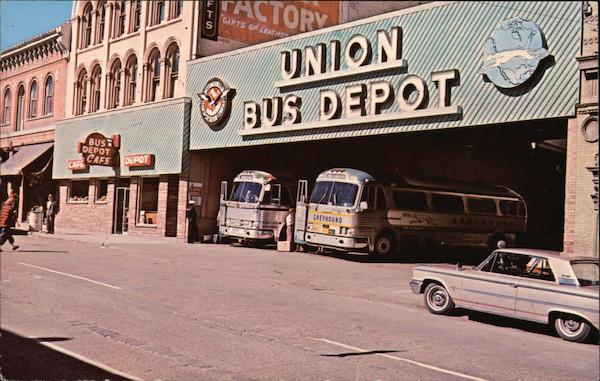 Union Bus Depot Butte Montana