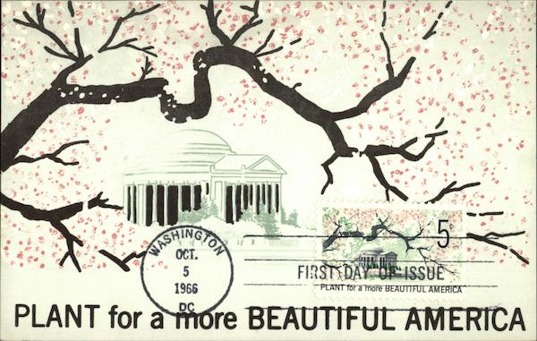 Plant for a more Beautiful America Maximum Cards