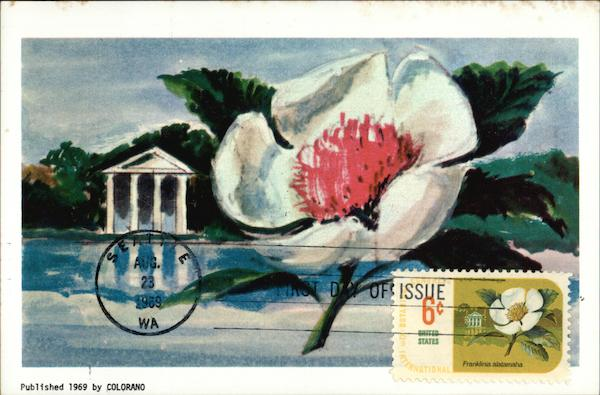 International Botanical Congrass Postage Stamp - First Day of Issue - August 23, 1969