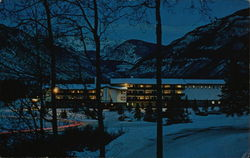 Evening View of The Lodge
