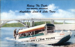 Riding the Ducks, Amphibian Land & Lake Tours