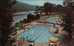 Two Olympic Size Heated Pools at Fred Waring's Shawnee Inn