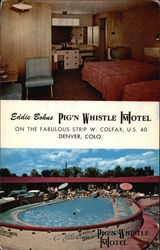 View of Room & Pool, Eddie Bohns Pig'N Whistle Hotel/Motel