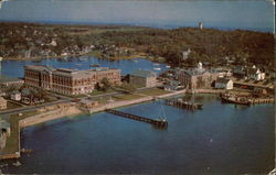 Bird's Eye View of Marine Biological Laboratory in Cape Cod
