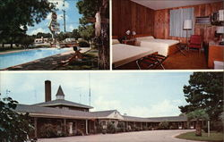 Pool, Room and Exterior View, Slumberland Motel
