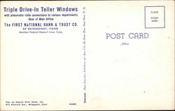 Triple Drive-In Teller Windows - First National Bank & Trust