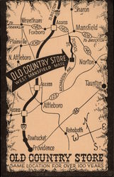 Map to Old Country Store