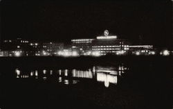 Night View of the General Electric Company's Main Plant