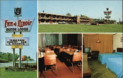 Inn of Lenoir Motor Lodge Postcard