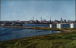 Refineries at East Providence, Rhode Island