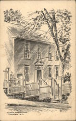 Stephen Hopkins House Postcard
