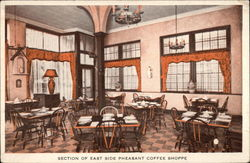 Section of East Side Pheasant Coffee Shop