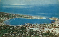 Ocracoke Village and Harbor