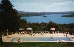 Lake Winnipesaukee's Most Scenic Resort - Shangri-La Motel Postcard
