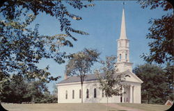 Martha-Mary Chapel - Built by Mr & Mrs Henry Ford Postcard