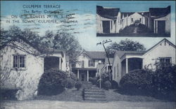 "Culpeper Terrace - ""The Better Cottages"" Postcard"