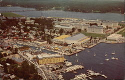 Aerial View of Waterfront
