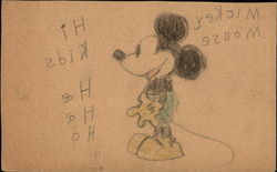 Micky Mouse - Hand-Drawn