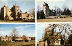 Henry C. Mercer Buildings: Mercer Museum, Fonthill, Moravian Tile Works, Carriage House