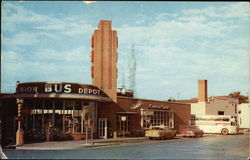 Continental Trailways Bus Terminal Postcard