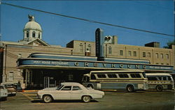 Greyhound Bus Station and Post House Restaurant