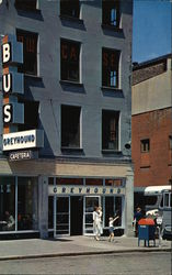 The Greyhound Bus Terminal