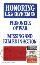 Honoring U.S. Servicemen - Prisoners of War - Missing and Killed in Action