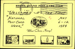 Rhode Island Post Card Club, What Cheer, Netop!
