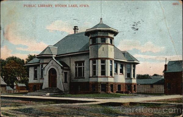 Public Library Storm Lake Iowa