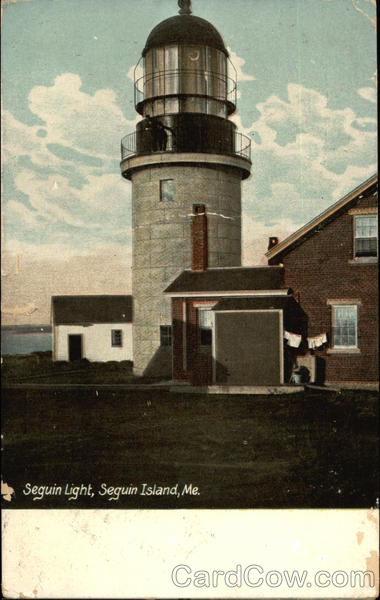 Seguin Light Bath Maine