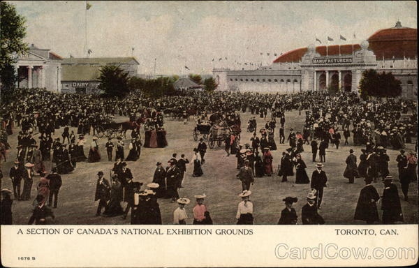 A Section of Canada's National Exhibition Grounds Toronto