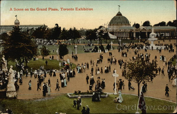A Scene on the Grand Plaza, Toronto Exhibition Canada