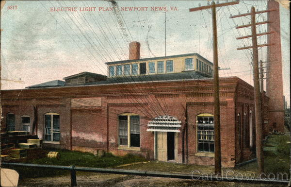 Electric Light Plant Newport News Virginia