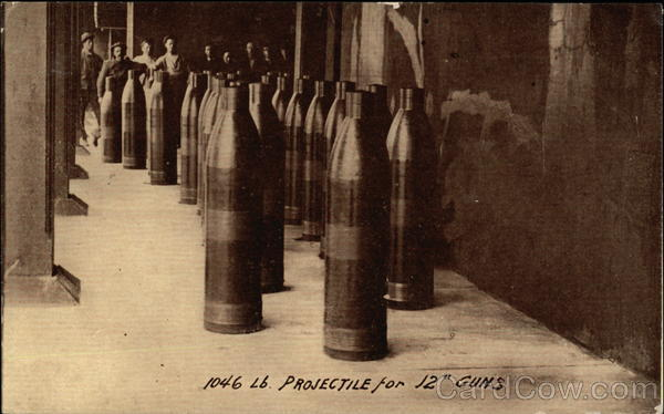 1046 Projectile for 12 Guns Military