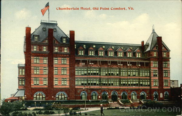 Chamberlain Hotel Old Point Comfort Virginia