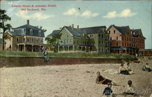 Abbott Hotel & Atlantic Hotel Old Orchard Beach Maine