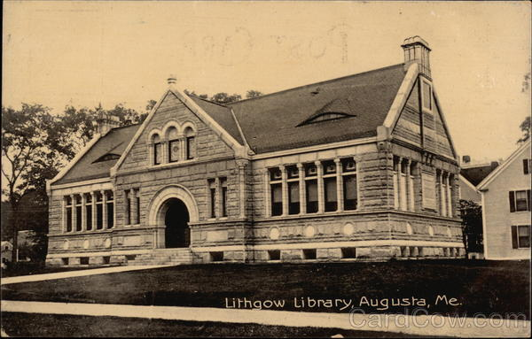 Lithgow Library Augusta Maine