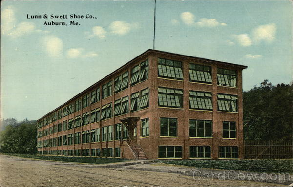 Lunn & Swett Shoe Co Auburn Maine
