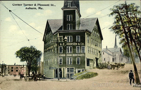 Corner of Turner and Pleasant Streets Auburn Maine