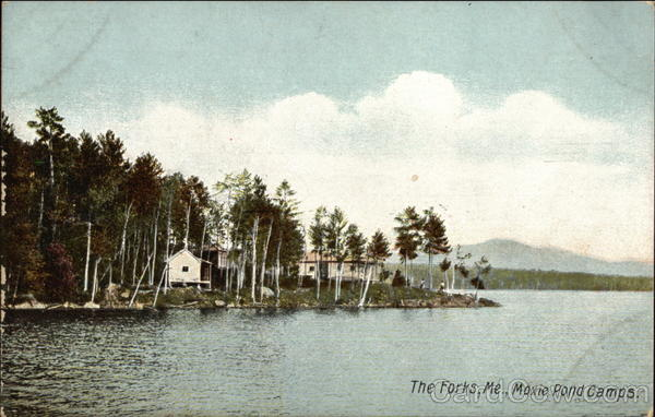 Moxie Pond Camps The Forks Maine