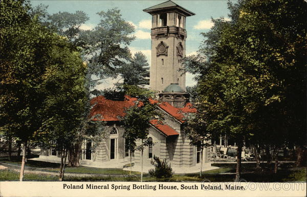 Poland Mineral Spring Bottling House South Poland Maine