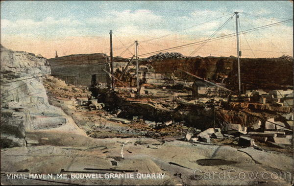 Bodwell Granite Quarry Vinalhaven Me