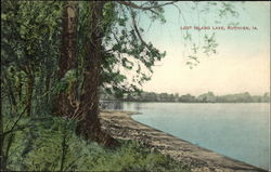 Scenic View of Lost Island Lake
