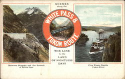 Scenes Along the White Pass & Yukon Route, The Line to the Land of Nightless Days
