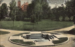 The Famous Sulphur Springs, Ohio Wesleyan University Campus