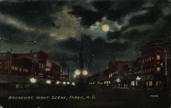 Broadway, Night Scene