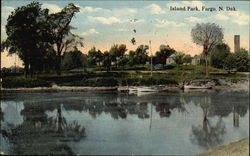 Scenic View of Island Park