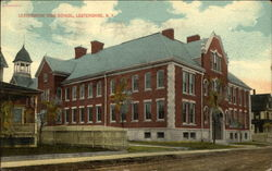 Lestershire High School Postcard